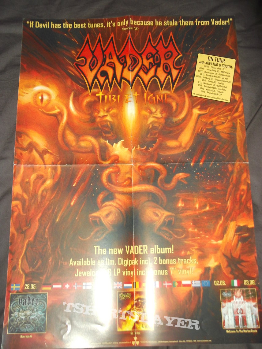 Vader Tibi et Igni Promotional Poster