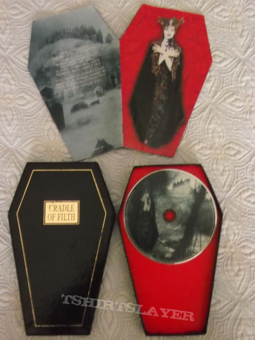 Cradle of Filth Dusk...and her Embrace coffin edition