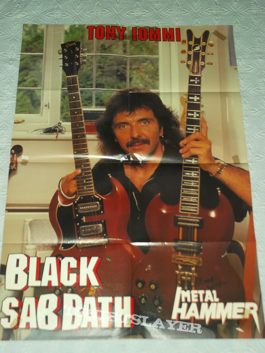 Toni Iommi Poster from Metal Hammer