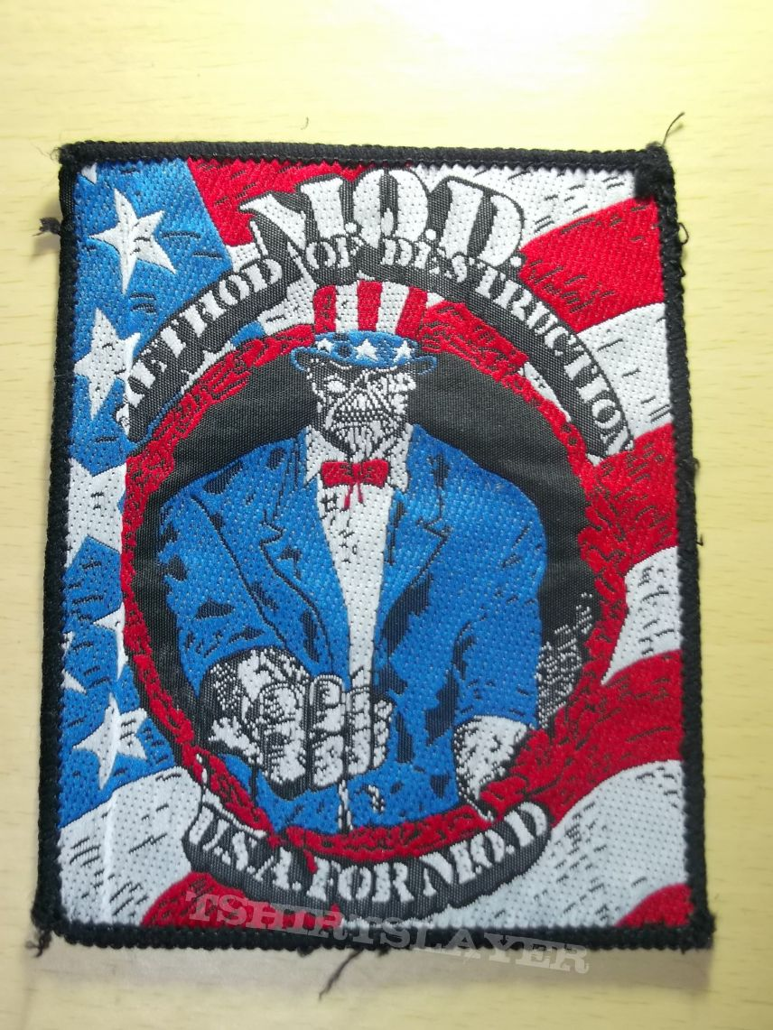 M.O.D. - U.S.A. for M.O.D. Patch
