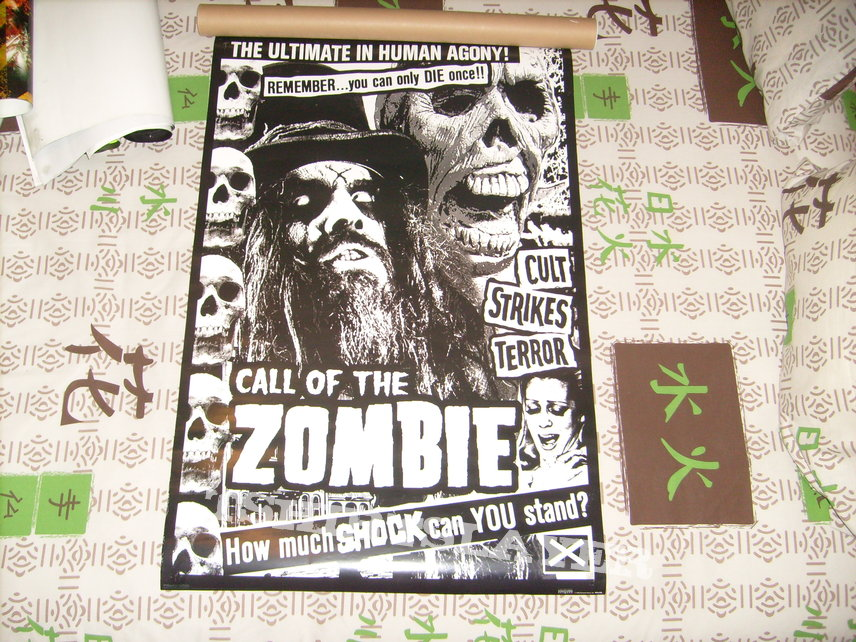Rob Zombie - Call of the Zombie Poster