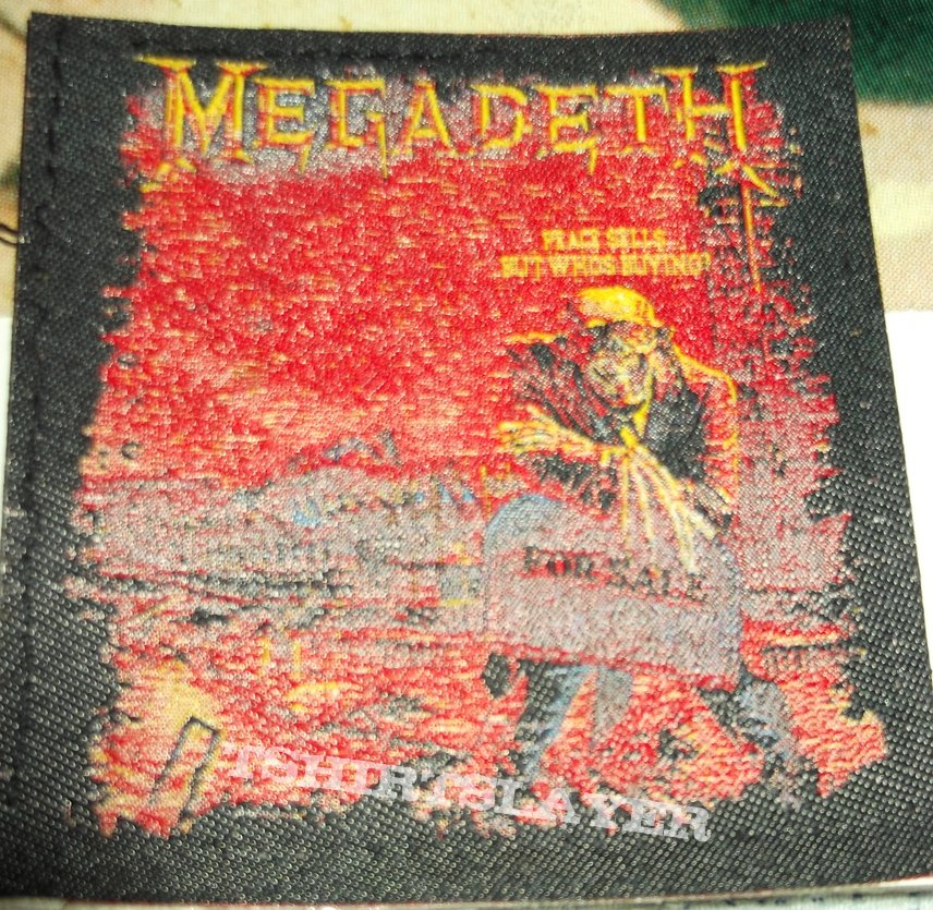 Megadeth - Peace sells...but who's Buying? Patch