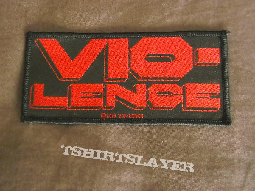 Vio-lence - Red logo official Patch