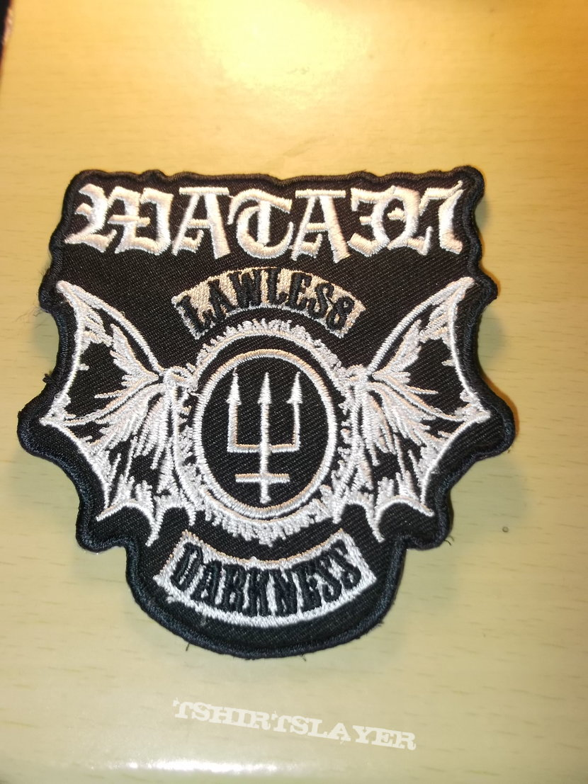 Watain - Lawless Darkness crest Patch