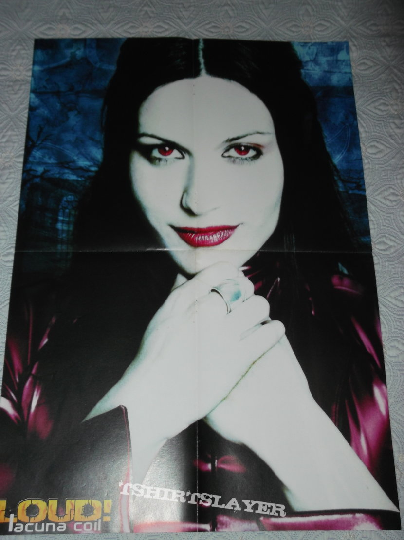 Lacuna Coil - Cristina Scabbia Poster from Loud Mag.