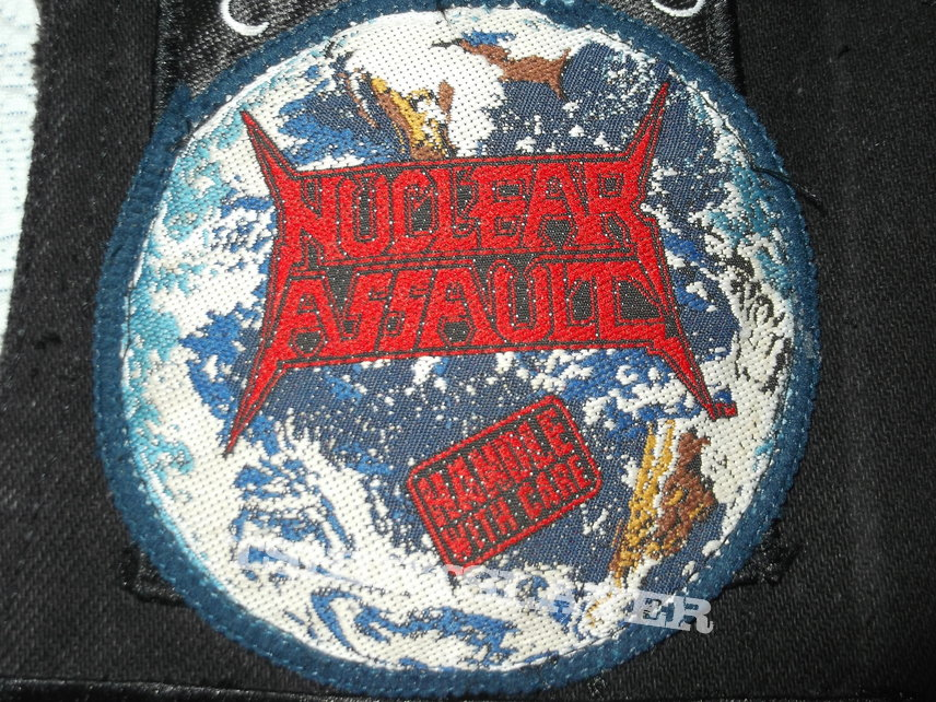 Nuclear Assault - Handle with Care Patch