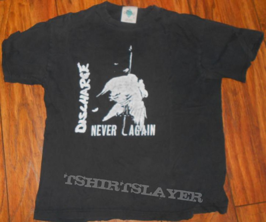 TShirt or Longsleeve - Discharge shirt
