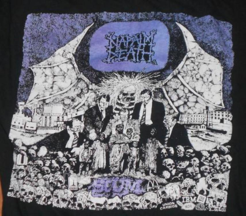 TShirt or Longsleeve - Napalm Death shirt