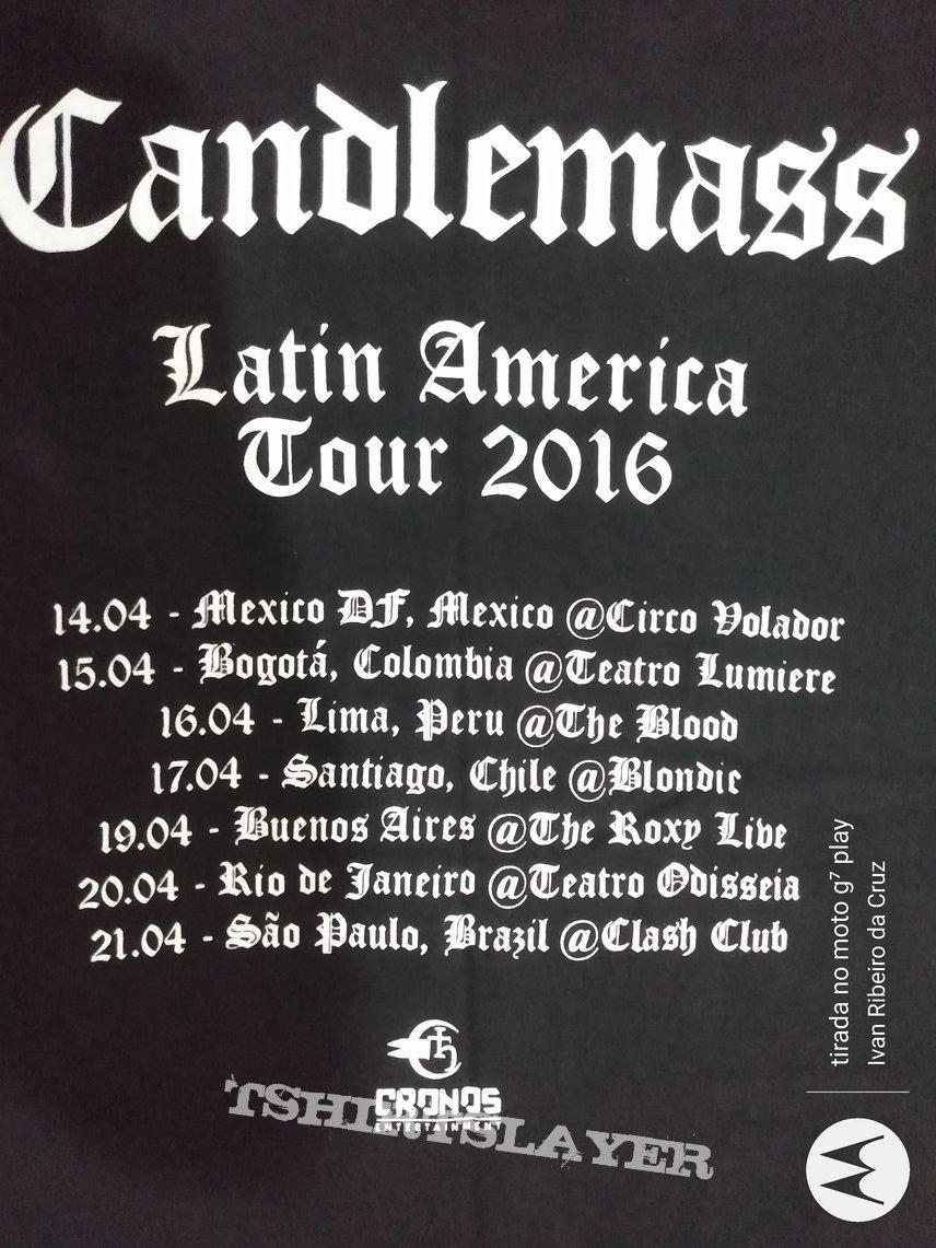 Candlemass Tour Shirt