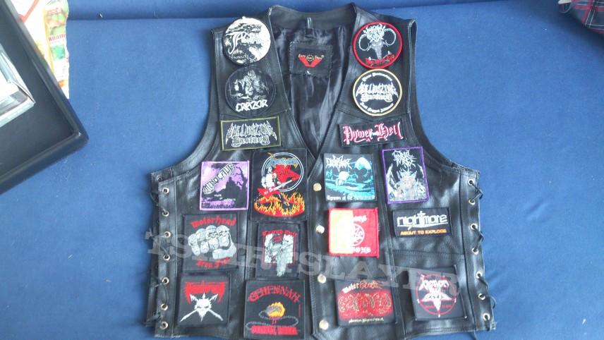 Black Leather Uniform!!!