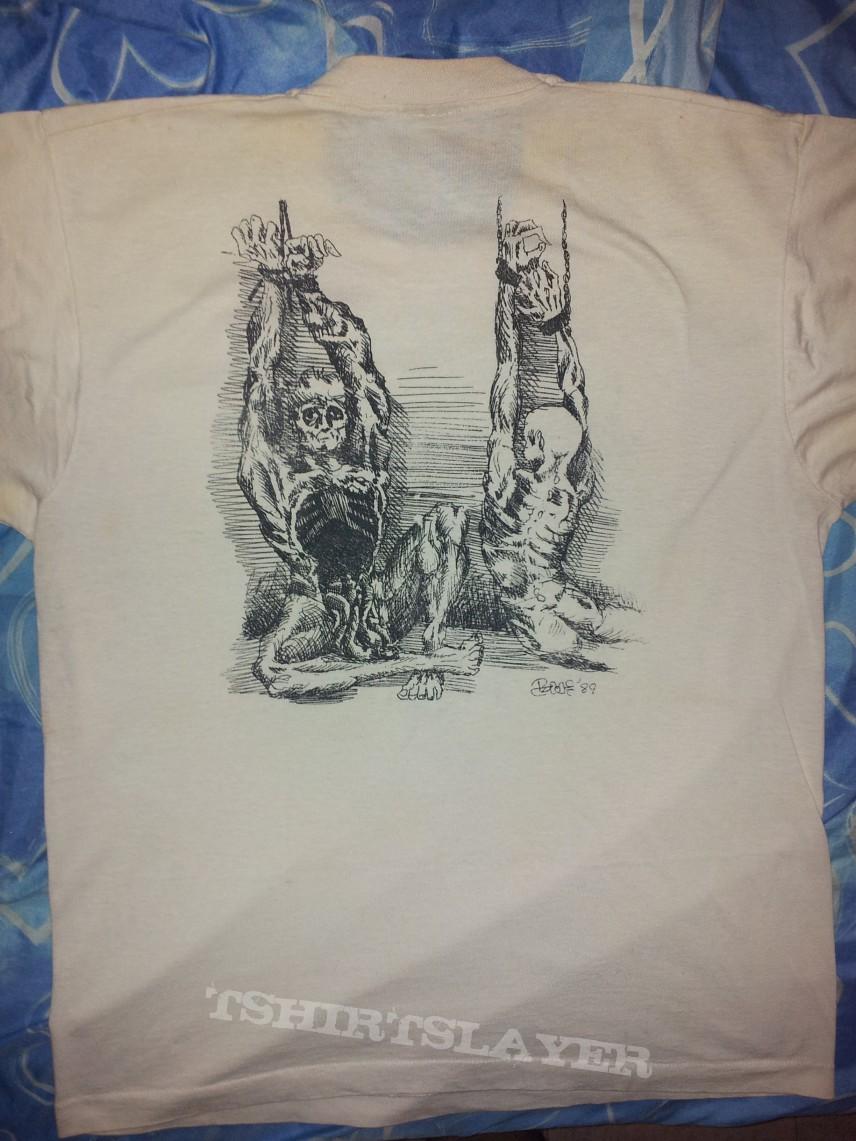 Ripping Corpse shirt - white version