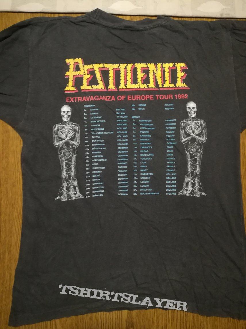 "Pestilence original ""Testimony of the Ancients"" longsleeve"