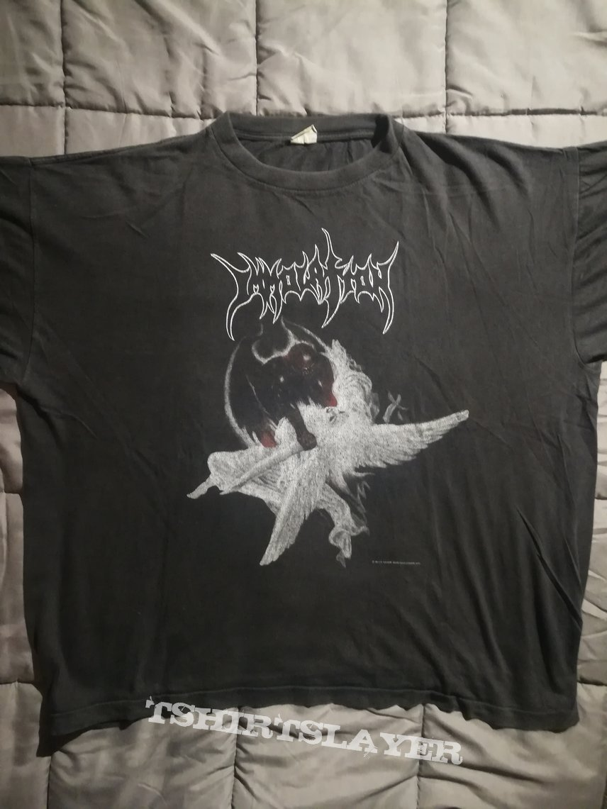 """Immolation original """"dawn of possession"""" 1991 tour shirt"""
