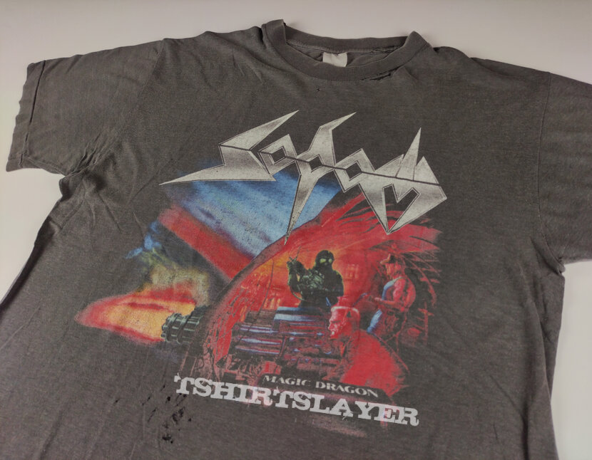 Sodom 1989 tour shirt