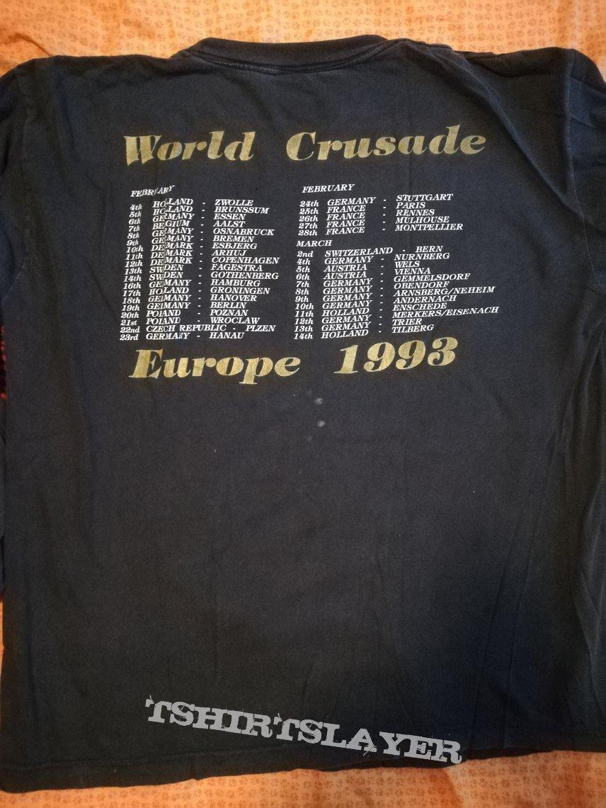 Bolt Thrower IV Crusade original 1993 European tour longsleeve