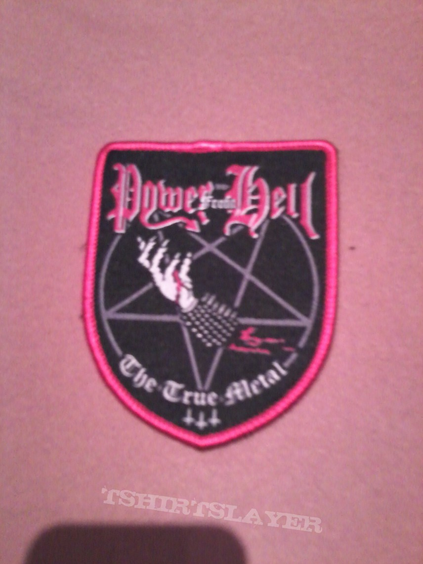 Power from hell stripe patch.