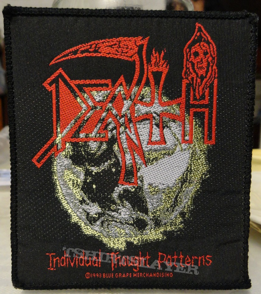 Individual Thought Patterns (vintage Patch