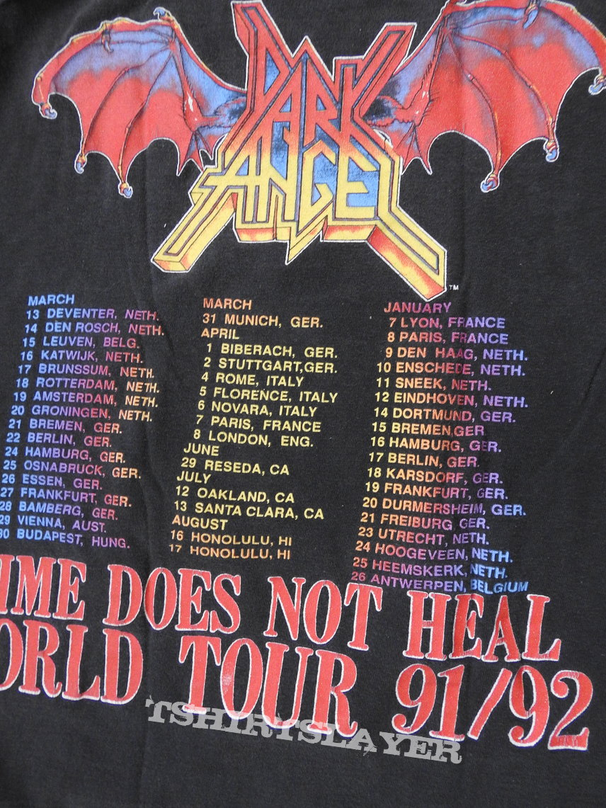 Dark Angel- Time does not heal tour