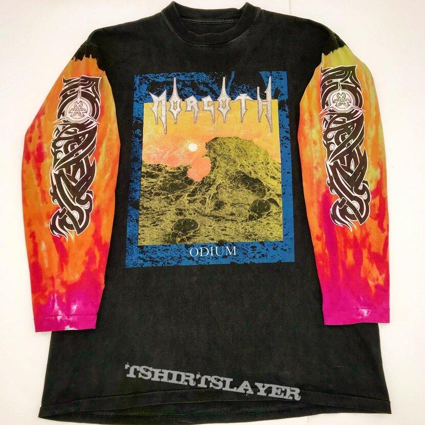 MORGOTH 1993 Tye Dye Sleeved Odium Longsleeve Shirt