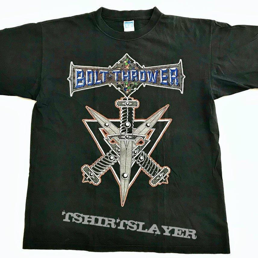 Bolt Thrower 1999 Mercenary US Tour Shirt