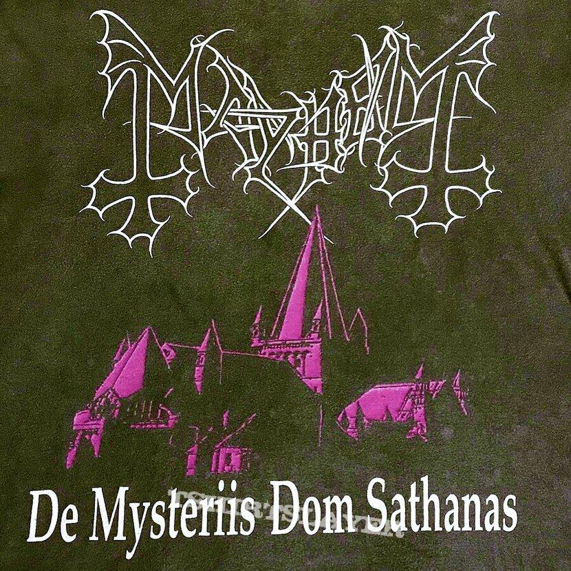 MAYHEM 1994 First Edition De Mysteriis Dom Sathanas LS Shirt XL/2XL