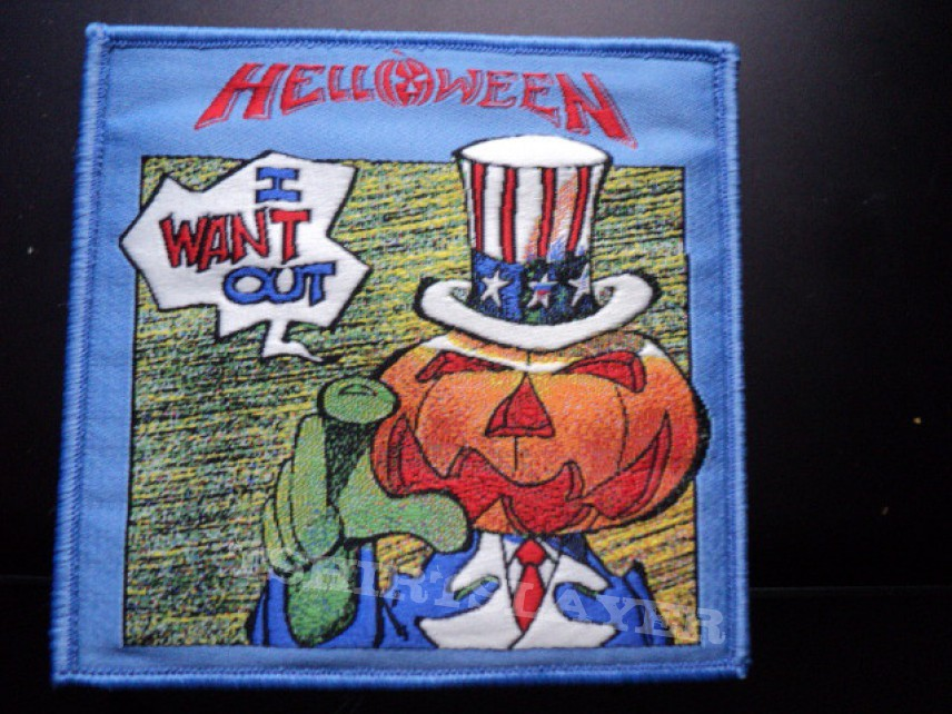 Helloween patches.