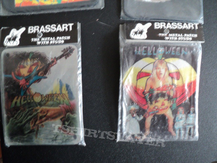 Patch - Newest Helloween patches and brassart.