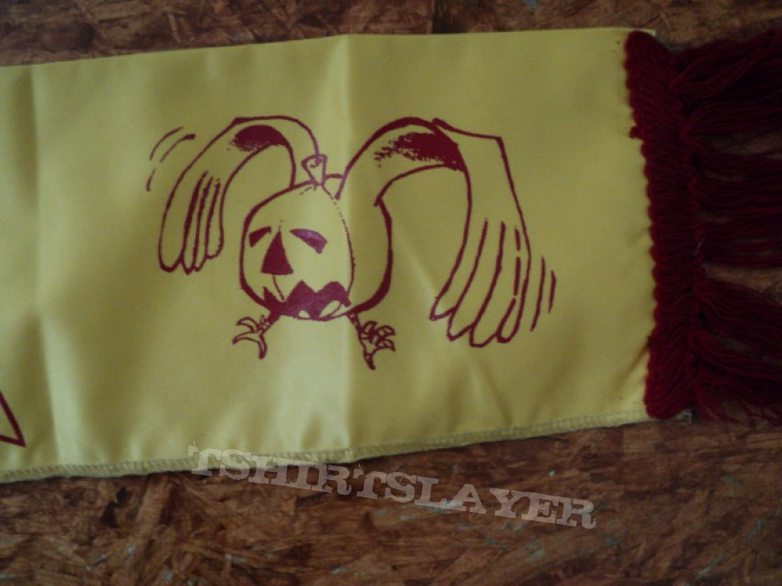 Other Collectable - Vintage Helloween tour scarf.