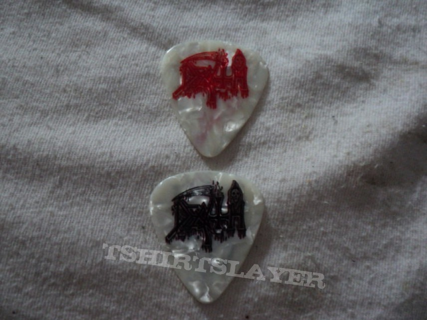 Other Collectable - Official Death guitar picks.