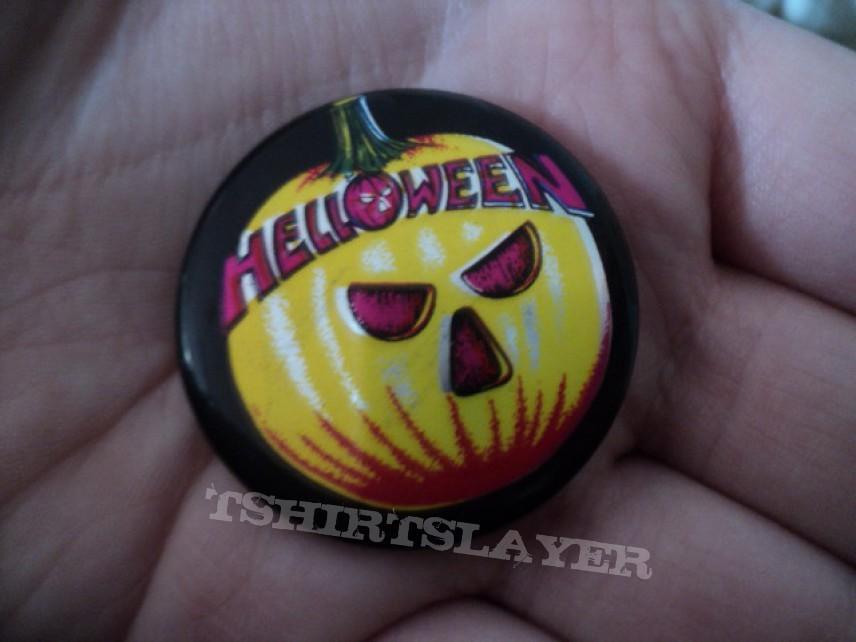 Helloween pin.