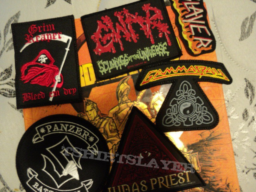 Patch - Patches for trade or sale.