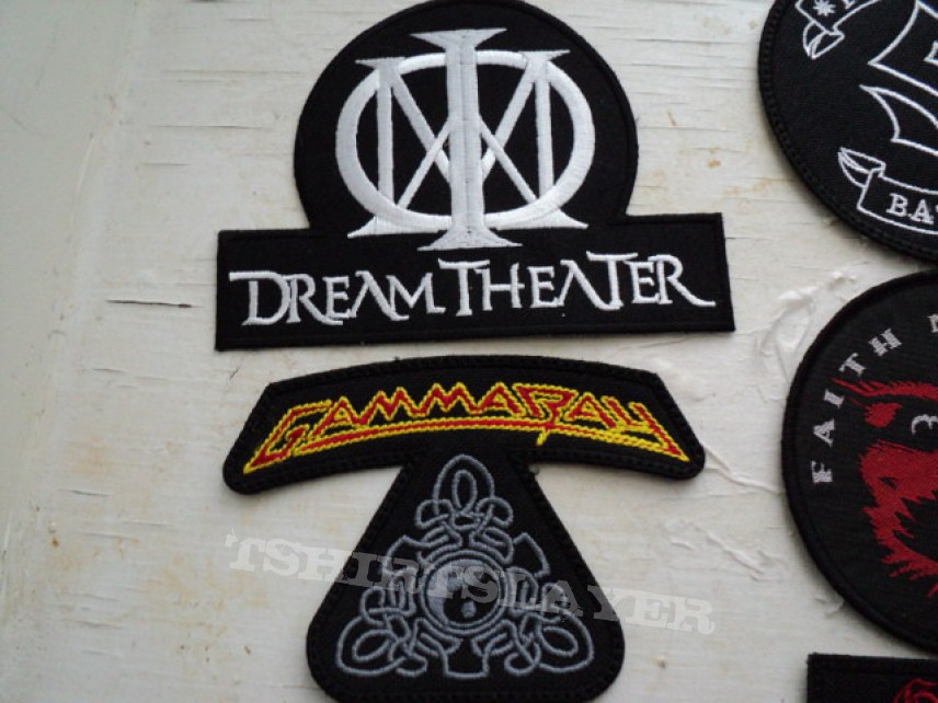 Patch - Patches still to go on my kutte.