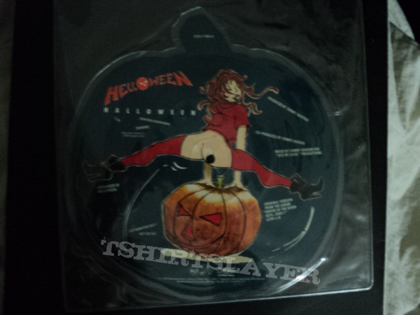Helloween promo 'Halloween' shaped picture disc.