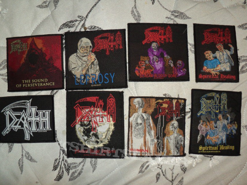 Patch - Death patches so far.