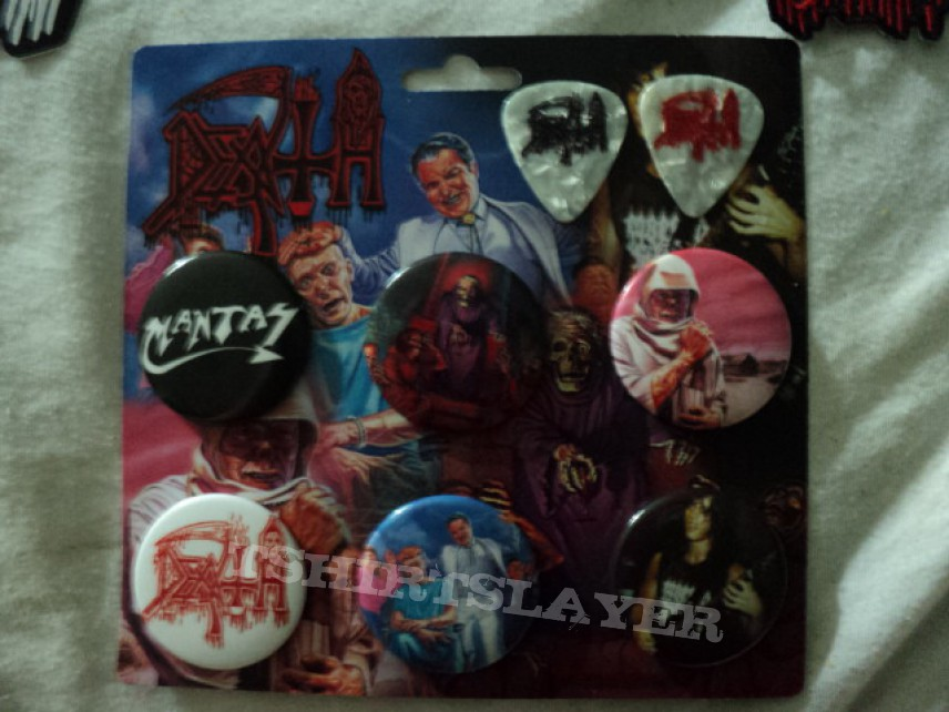 Other Collectable - Death 'Spiritual Healing' die hard fan pack.