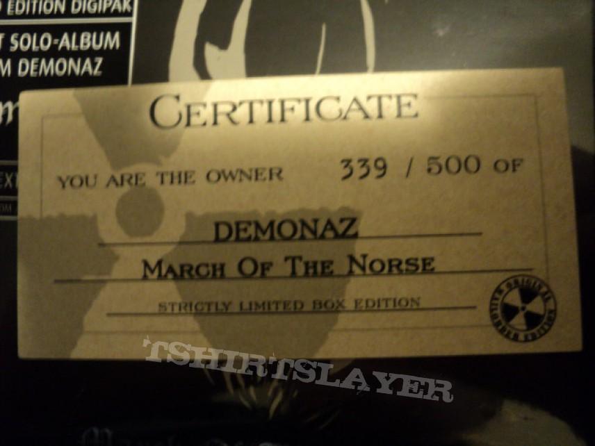 Demonaz Nuclear Blast boxset.
