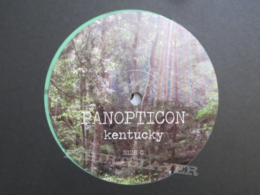 Panopticon Kentucky green splatter vinyl reissue
