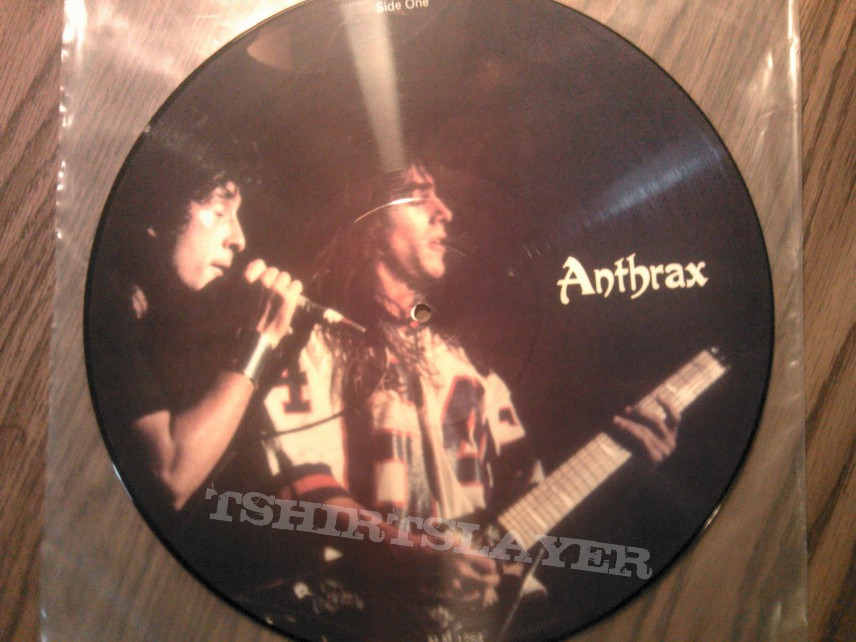 Other Collectable - Anthrax pic disc