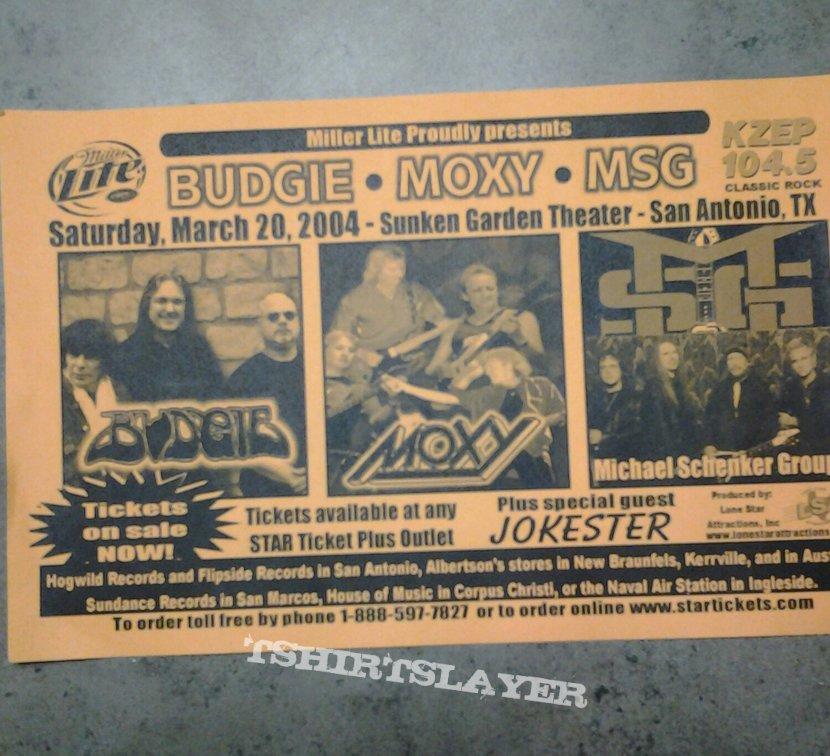2004 Budgie flyer