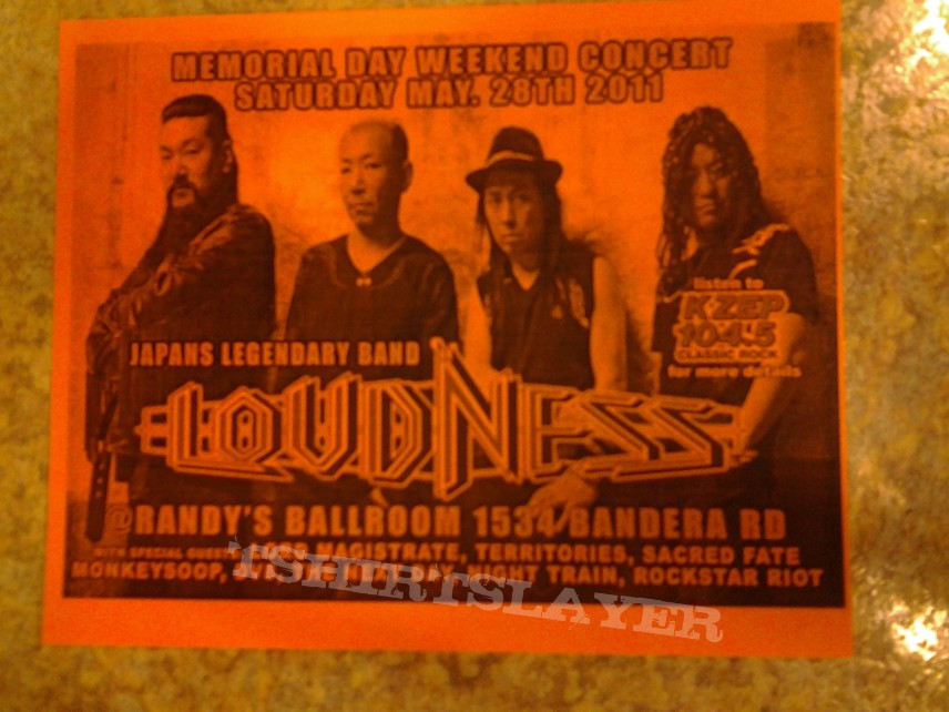 Loudness Texas flyer