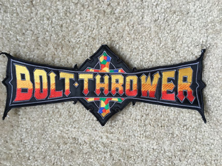 Large bolt thrower patch