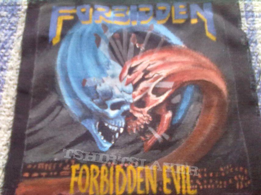 Patch - Forbidden - Forbidden Evil handmade painted patch
