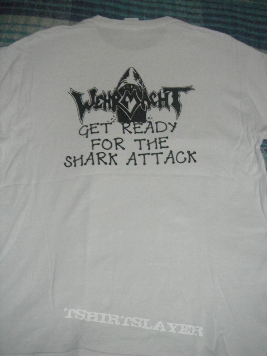 Wehrmacht - Shark Attack t-shirt