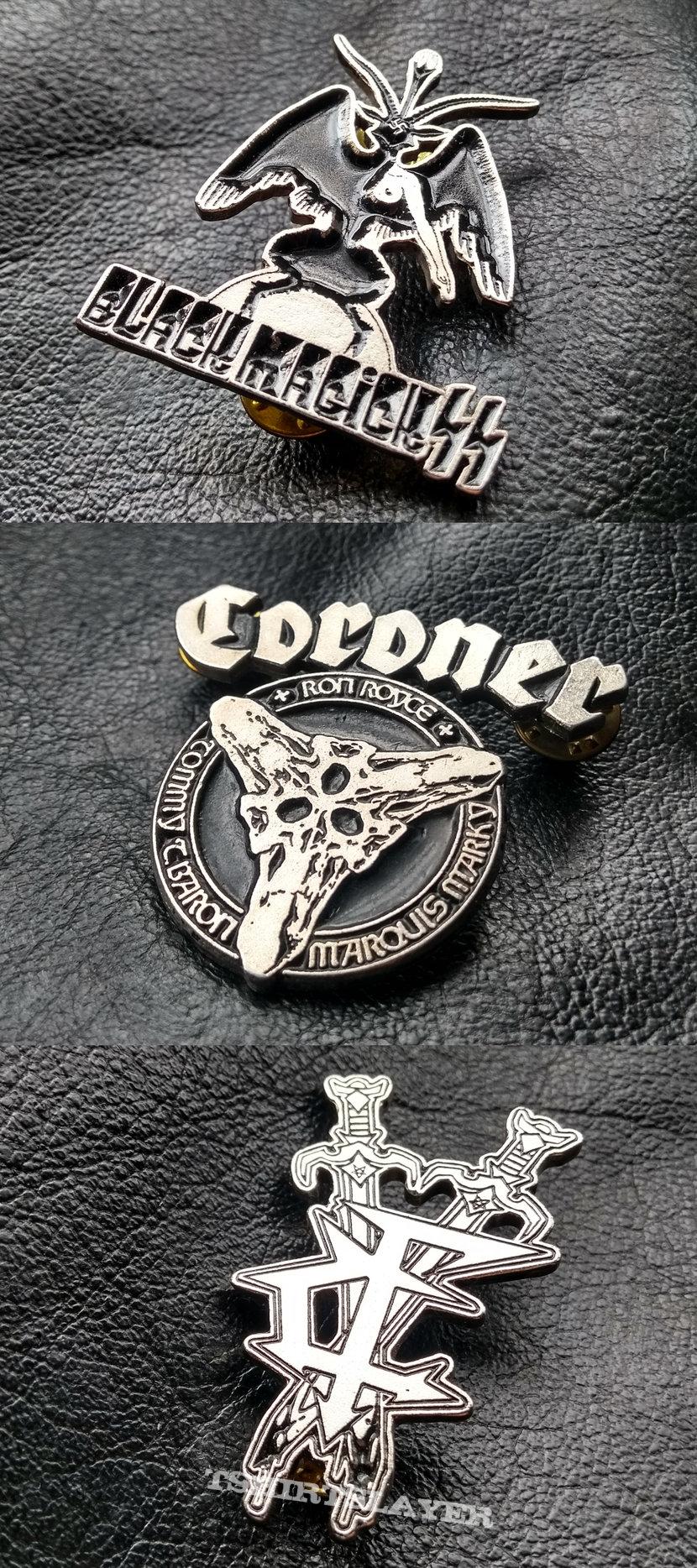 My Metal Pins/Badges V