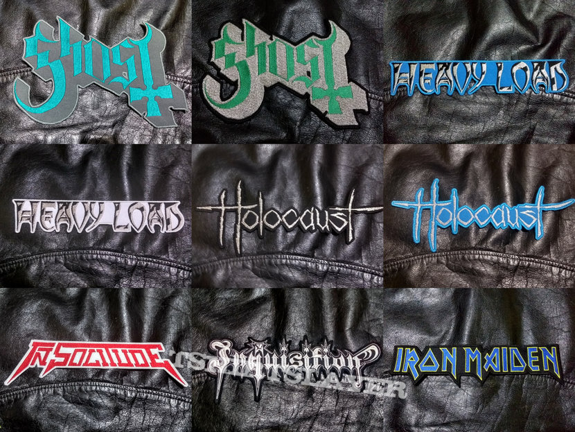 BigLogo Embroidered Shaped-Backpatches II