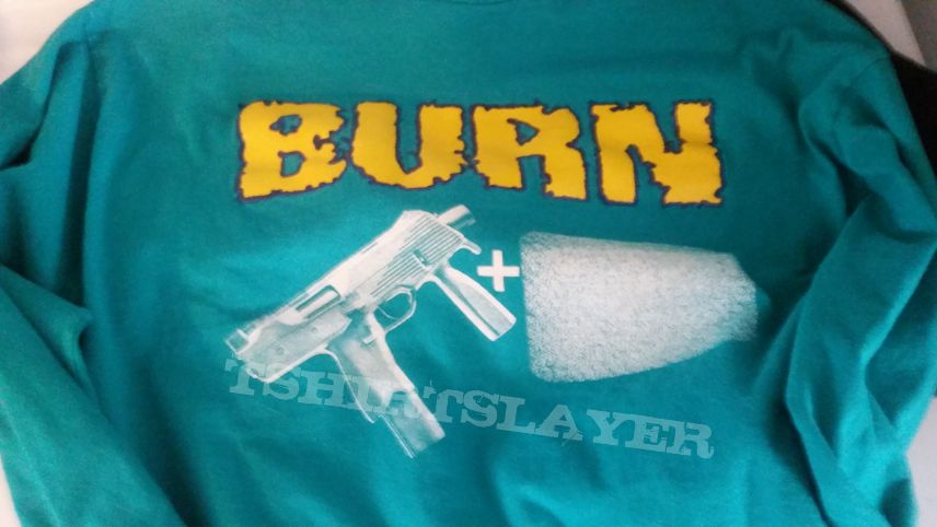 Burn UZI shirt teal