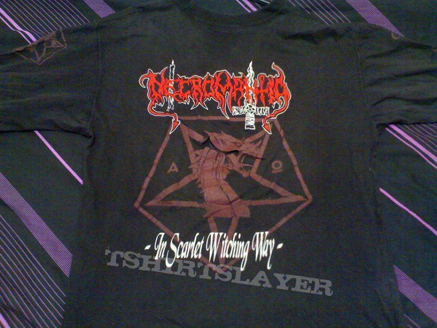 TShirt or Longsleeve - Necromantia - Scarlet Evil Witching Black