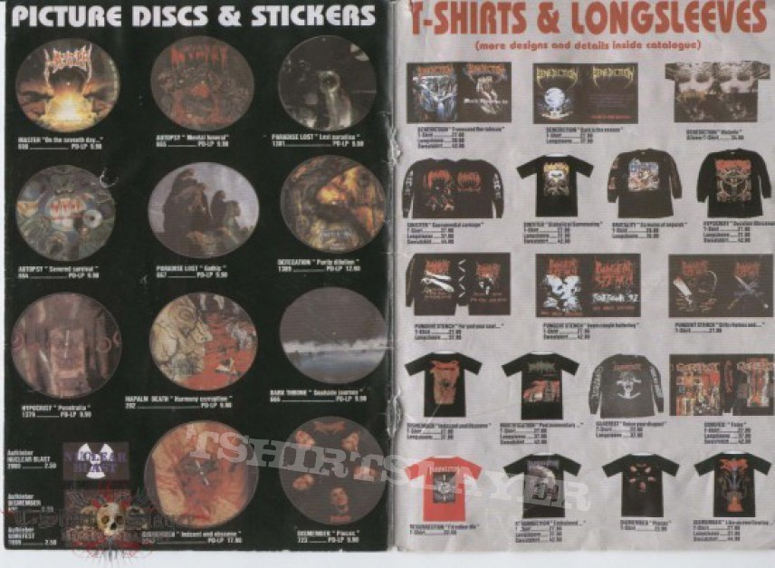 Other Collectable - Nuclear Blast catalogue 1993
