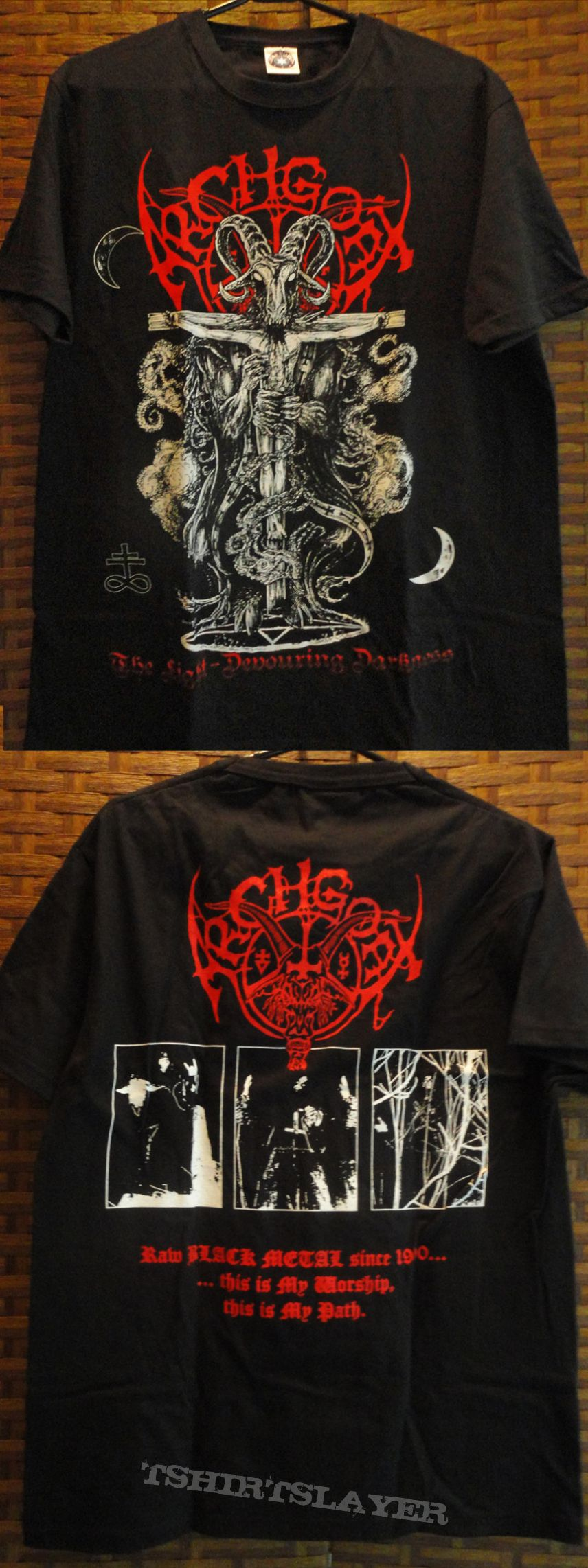 TShirt or Longsleeve - ARCHGOAT - The Light-Devouring Darkness