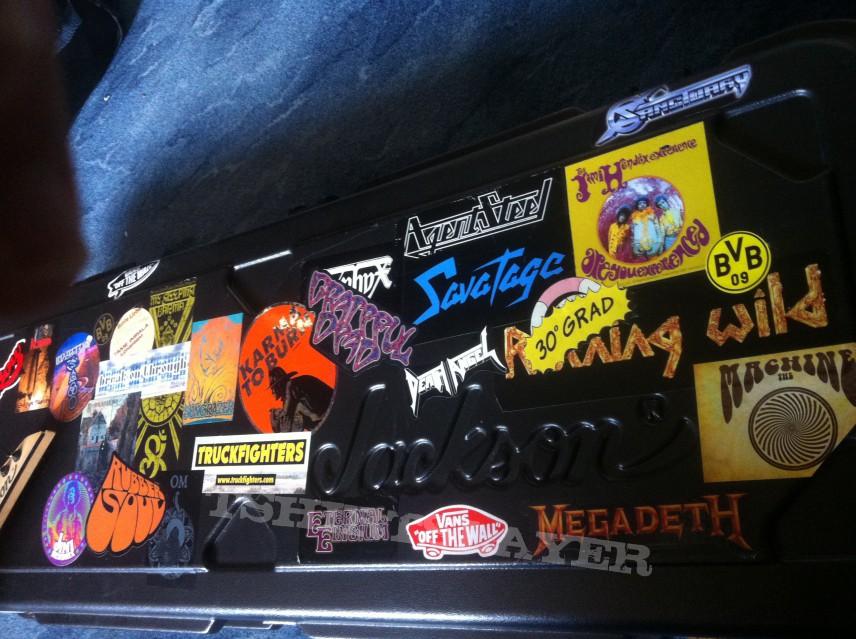 Guitar and Flightcase
